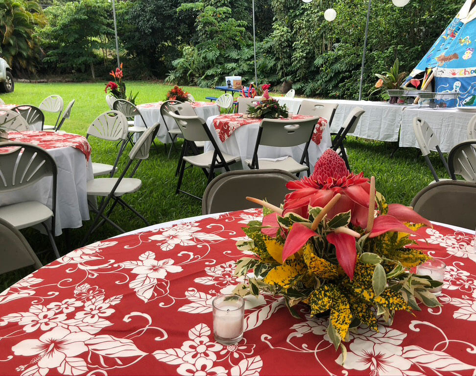 Outdoor event on SKEA property